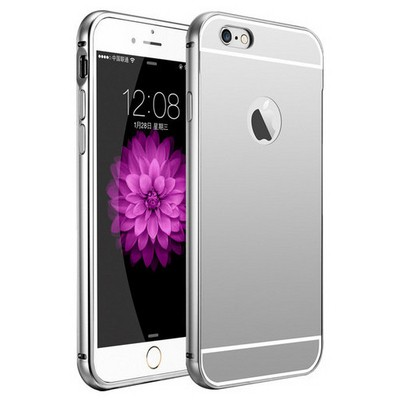 Microsonic Iphone 6 Kılıf Luxury Mirror Gümüş Cep Telefonu Kılıfı
