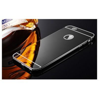 Microsonic Iphone 6 Kılıf Luxury Mirror Siyah Cep Telefonu Kılıfı