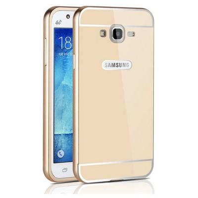 Microsonic Samsung Galaxy J2 Kılıf Luxury Mirror Gold Cep Telefonu Kılıfı