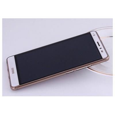 Microsonic Huawei Mate S Kılıf Transparent Soft Siyah Cep Telefonu Kılıfı