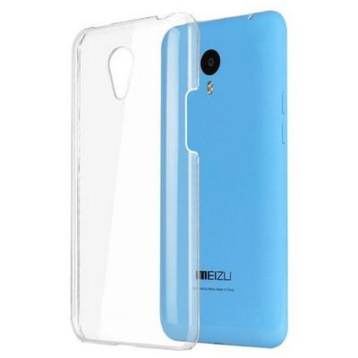 Microsonic Meizu M1 Note Kılıf Kristal Şeffaf Cep Telefonu Kılıfı