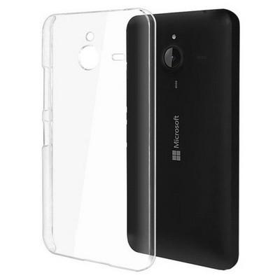 Microsonic Microsoft Lumia 640 Xl Kılıf Kristal Şeffaf Cep Telefonu Kılıfı