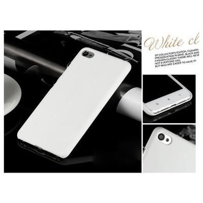 Microsonic Lenovo S90 Sisley Kılıf Premium Slim Beyaz Cep Telefonu Kılıfı