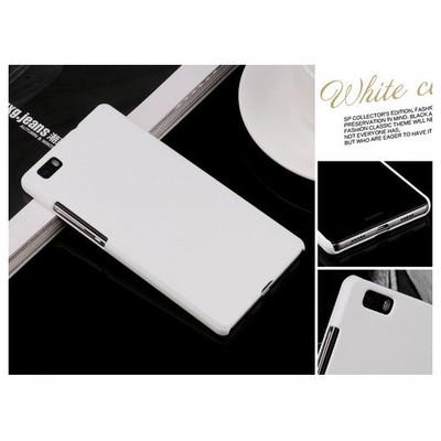 Microsonic Huawei Ascend P8 Kılıf Premium Slim Beyaz Cep Telefonu Kılıfı