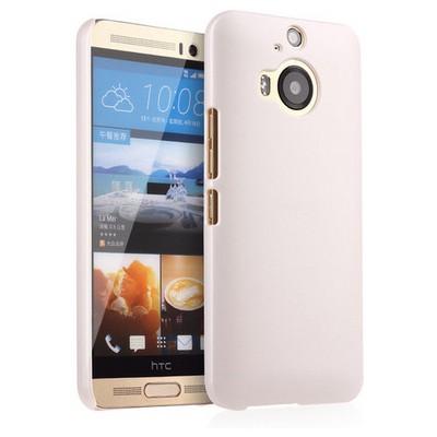 Microsonic Htc One M9+ Plus Kılıf Premium Slim Beyaz Cep Telefonu Kılıfı