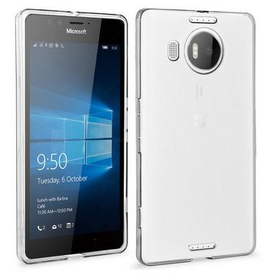 Microsonic Microsoft Lumia 950 Xl Clear Soft Şeffaf Kılıf Cep Telefonu Kılıfı