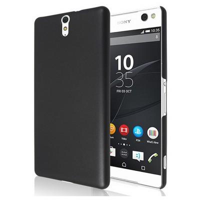 Microsonic Sony Xperia C5 Ultra Kılıf Premium Slim Siyah Cep Telefonu Kılıfı
