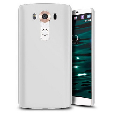 Microsonic Lg V10 Kılıf Premium Slim Beyaz Cep Telefonu Kılıfı