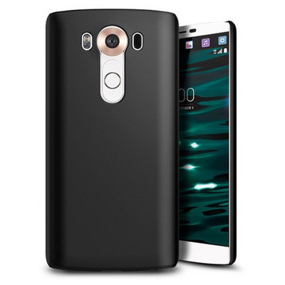 Microsonic Lg V10 Kılıf Premium Slim Siyah Cep Telefonu Kılıfı
