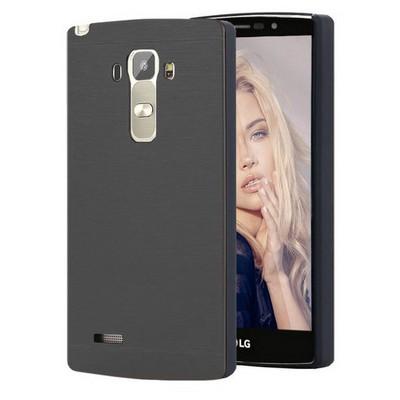 Microsonic Lg G4 Stylus Kılıf Hybrid Metal Siyah Cep Telefonu Kılıfı