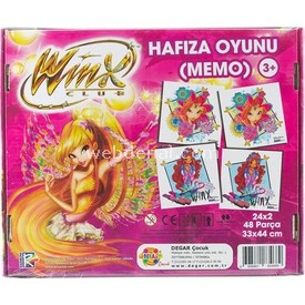 Degar Oyuncak Winx Hafıza Oyunu Kutu Oyunları