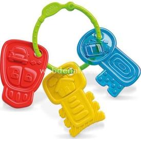 Clementoni Baby Renkli Anahtarlar (3ay+) Dişlik & Çıngırak