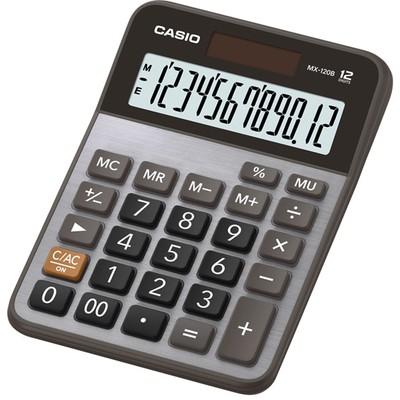 Casio Mx-120b-w-dc(cn) Masaüstü Hm Hesap Makinesi