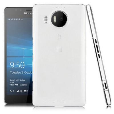 Microsonic Microsoft Lumia 950 Xl Kılıf Kristal Şeffaf Cep Telefonu Kılıfı