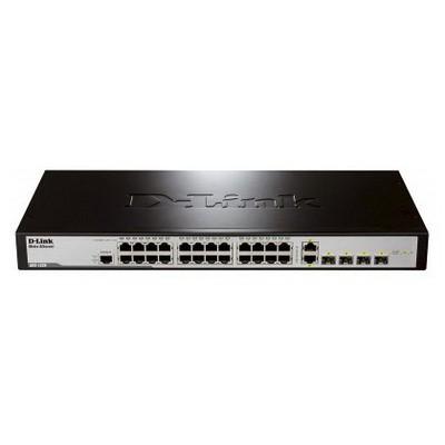 D-link Des-1228/me/b1a 24-port 10/100mbps + 2 100/1000 Sfp + 2 Combo 1000base-t/sfp L2 Metroethernet Swıtch Switch
