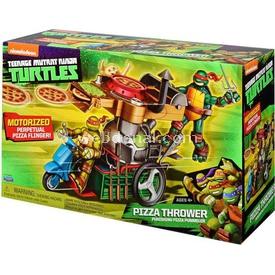 Ninja Kaplumbağalar Ninja Turtles Pizza Fırlatan Karavan Erkek Çocuk Oyuncakları