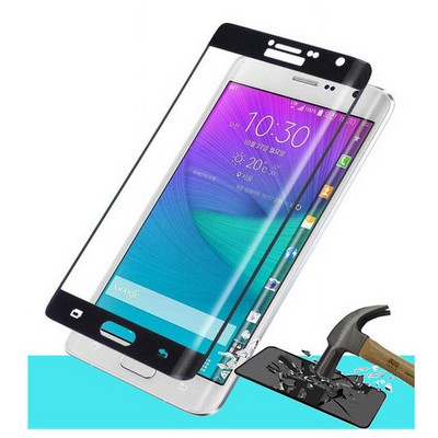Microsonic Samsung Galaxy Note Edge 3d Kavisli Temperli Cam Ekran Koruyucu Kırılmaz Film Siyah Ekran Koruyucu Film
