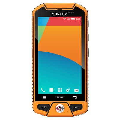 Sunlux XL-868 WLAN, Bluetooth RFID/NFC13 Mp kamera Ip 65 El Terminali