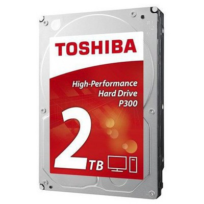 Toshiba 2TB P300 High-Performance Hard Disk (HDWD120UZSVA)