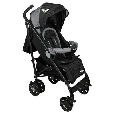 Mcrae Mc 280 Ultimate Alüminyum Lux Baston Bebek Arabası - Siyah Baston Puset