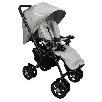 Mcrae Mc 5010 Royalty Çift Yönlü Hafif Bebek Arabası - Gri Çift Yönlü Bebek Arabası