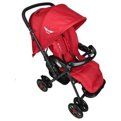 Mcrae Mc 5010 Royalty Çift Yönlü Hafif Bebek Arabası - Kırmızı Çift Yönlü Bebek Arabası