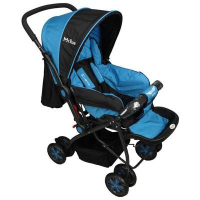 Mcrae Mc 720 Enjoy Dört Mevsim Çift Yönlü  - Mavi Bebek Arabası