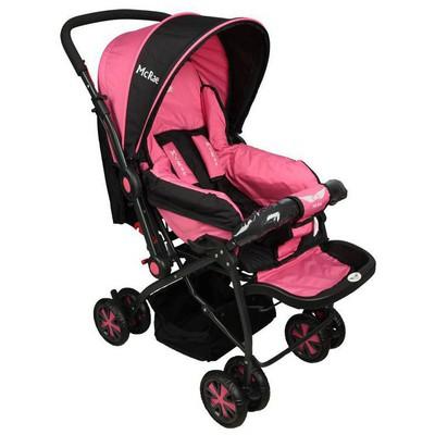 Mcrae Mc 720 Enjoy Dört Mevsim Çift Yönlü Bebek Arabası - Pembe Bebek Monitörü