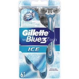 Gillette Blue 3 Ice Tıraş Bıçağı 6'lı Paket Erkek Tıraş Bıçağı
