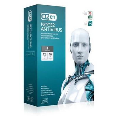 Nod32 Eset Antivirus V9 Kutu-1 Kullanıcı Güvenlik Yazılımı