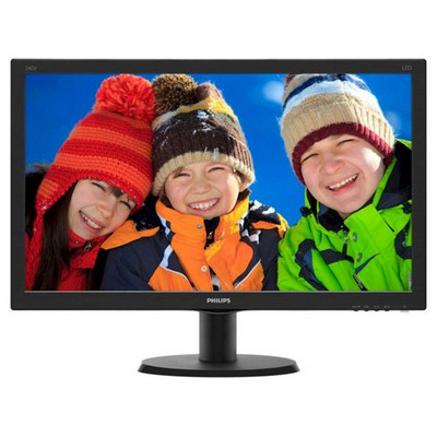 "Philips 240V5QDAB/00 23.8"" Full HD Monitör"