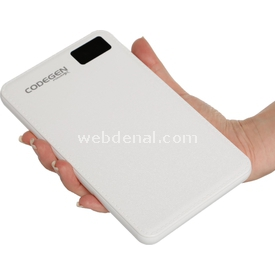 Codegen X20w Powerx 20000 Mah Beyaz Powerbank Taşınabilir Şarj Cihazı