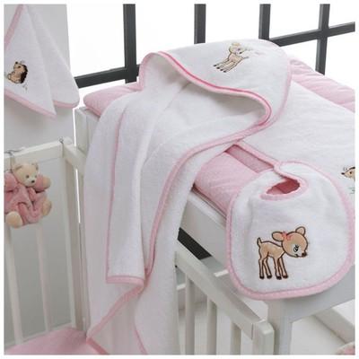 Taç Baby Bambi Bebek Seti - Pembe Ev Tekstili