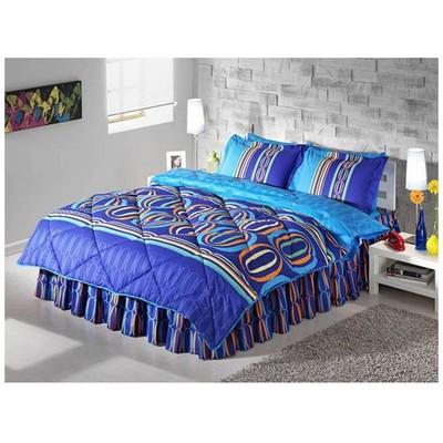 Taç Lester Çift Kişilik Uyku Seti - Mavi Uyku Setleri