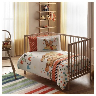 Taç Disney Winnie Play Baby Bebek Nevresim Takımı Ev Tekstili