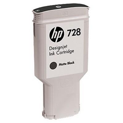 HP F9J68A (728) 300-ML Mat SIYAH MUREKKEP KARTUSU Kartuş