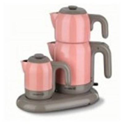 Korkmaz A353-02 Mia Çay Kahve Makinası Pembe Çay Makinesi