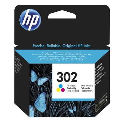 HP 302 Renkli F6U65A Kartuş