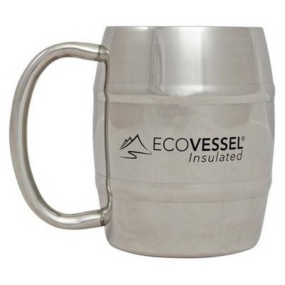 Eco Vessel Stainless Steel Double Wall Mug 220ml Bardak, Kupa, Sürahi