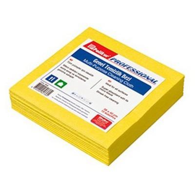 Polikur Profesyonel Genel Temizlik Bezi 38 X 40 Cm 10'lu Paket Bez / Sünger