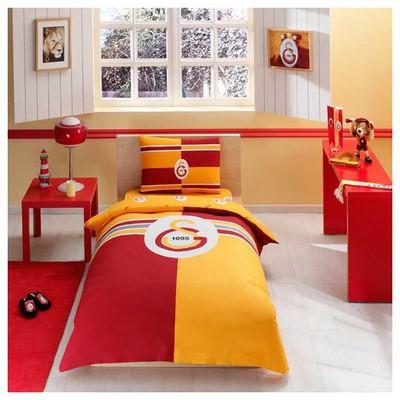 Taç Galatasaray Logo Nevresim Takımı Galatasaray Ürünleri
