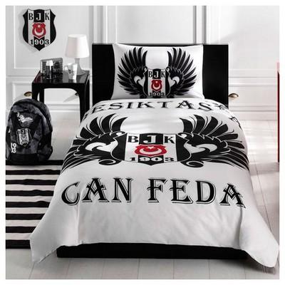Taç Beşiktaş Parlayan Kartal Nevresim Takımı Beşiktaş Ürünleri