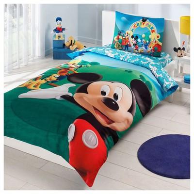 Taç Disney Mickey Mouse Club Nevresim Takımı