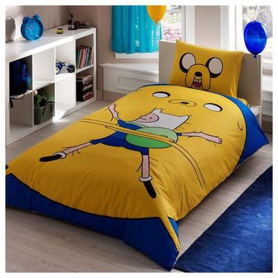Taç Tekstil Taç Adventure Time Nevresim Takımı