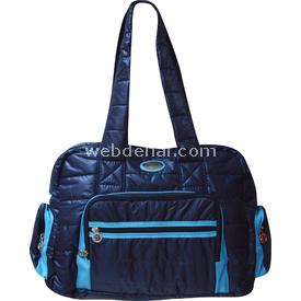 Lullaby 241 Star2 Puflu Çanta Lacivert-mavi Anne Çantası