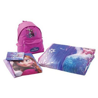Taç Disney Frozen Yatak Örtülü /çanta Hediyelidi Nevresim Takımı