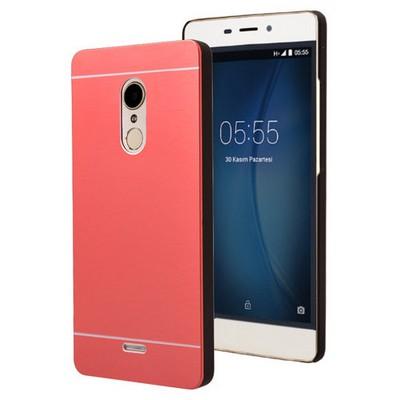 Microsonic Türk Telekom Tt175 Kılıf Hybrid Metal Kırmızı Cep Telefonu Kılıfı