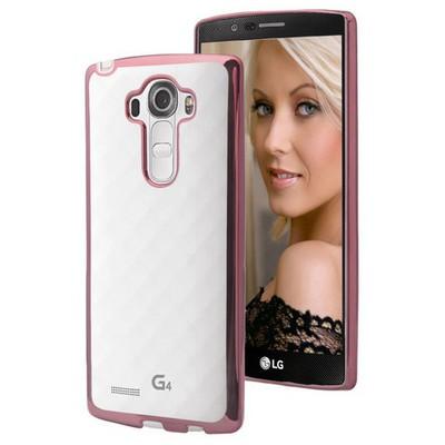 Microsonic Lg G4 Stylus Kılıf Flexi Delux Rose Cep Telefonu Kılıfı
