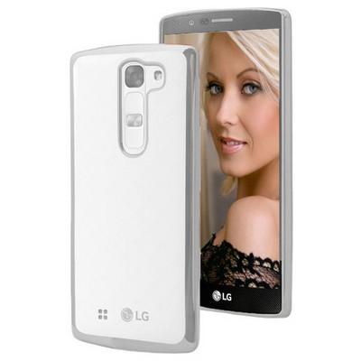 Microsonic Lg G4c Kılıf Flexi Delux Gümüş Cep Telefonu Kılıfı