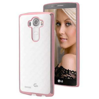 Microsonic Lg G4 Kılıf Flexi Delux Rose Cep Telefonu Kılıfı